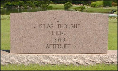 7 signs I'm getting old tombstone no afterlife