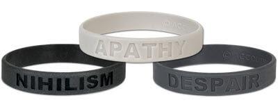 apathy wristband