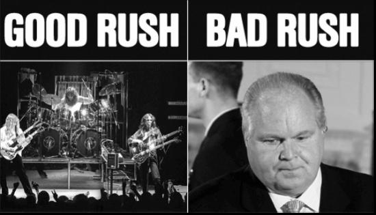 good rush bad rush