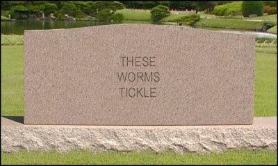 7 signs I'm getting old tombstone worms