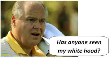 Rush Limbaugh Douche of the Week