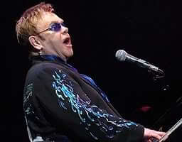 Elton John sings at Limbaugh wedding
