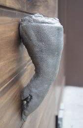 Pig door handle