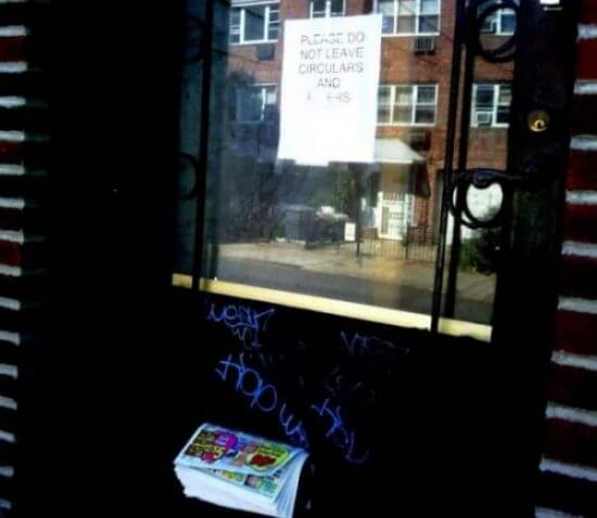 No Flyers door magick sandwich