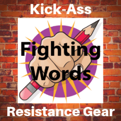 Fighting Words Designs banner ad