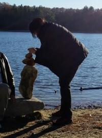 Author on Walden Pond