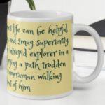 Thoreau Quote mug Magick Sandwich
